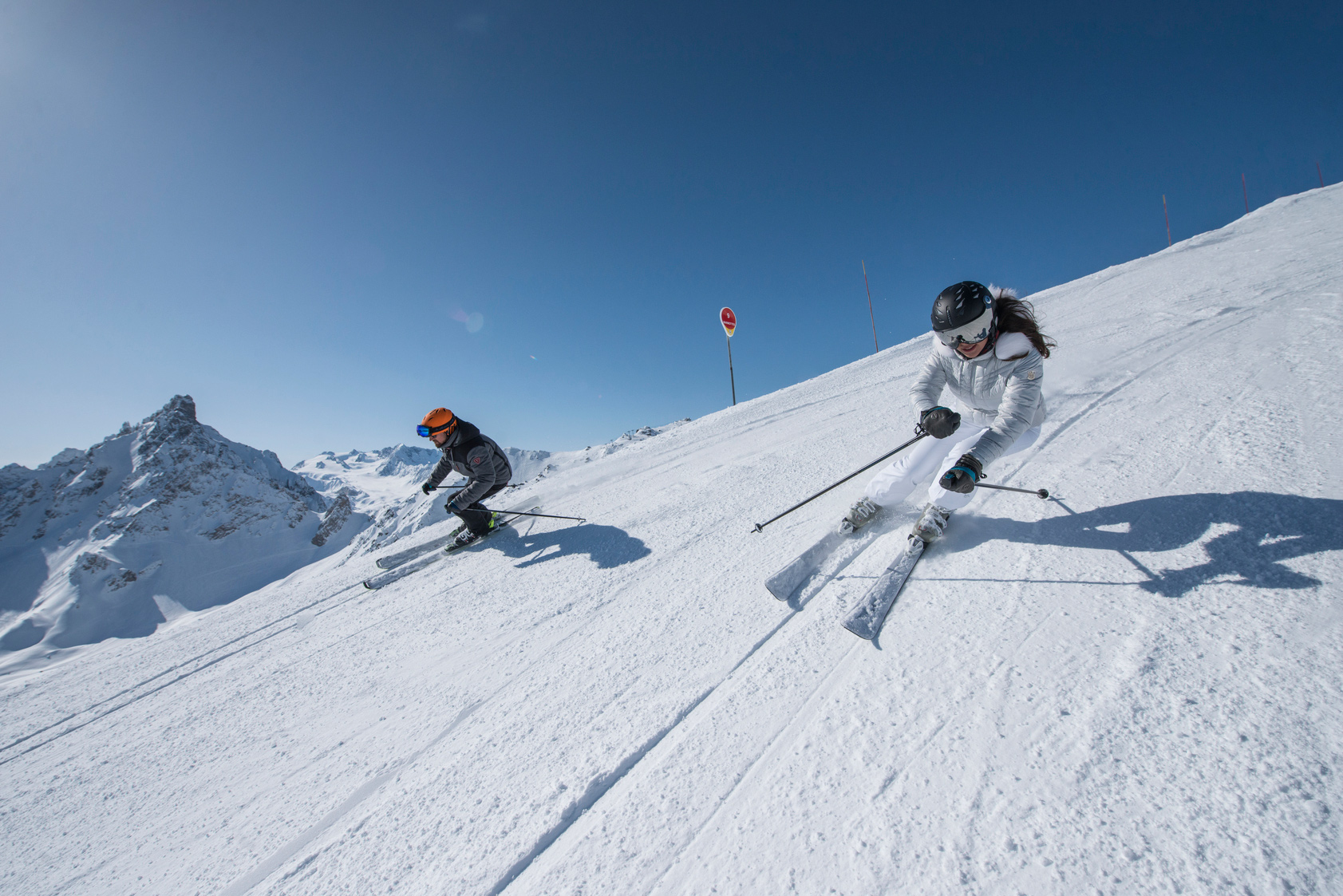 Our Favourite Ski Slopes in Courchevel and Les Gets