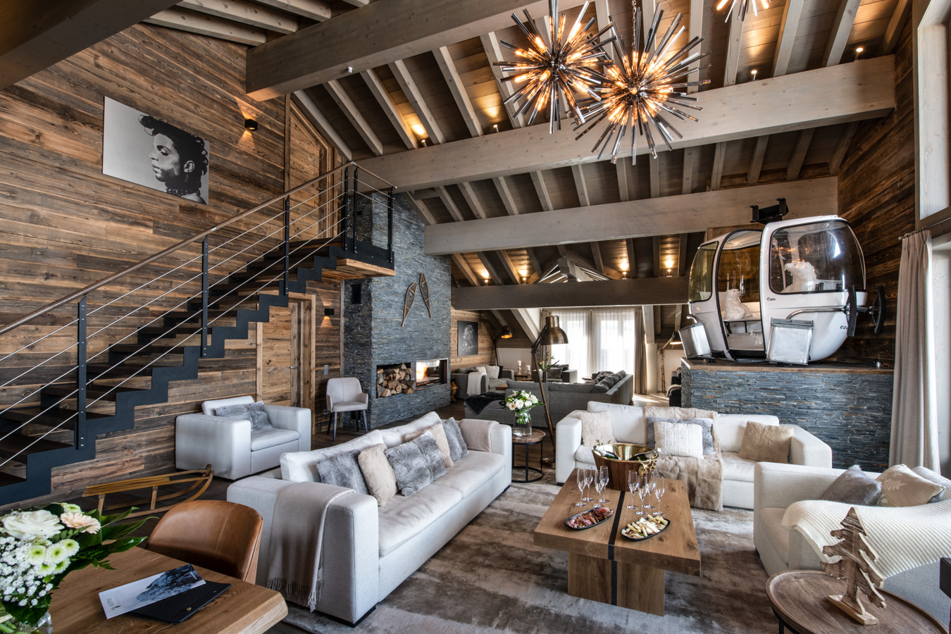 Five Dream Chalets and Apartments in Courchevel
