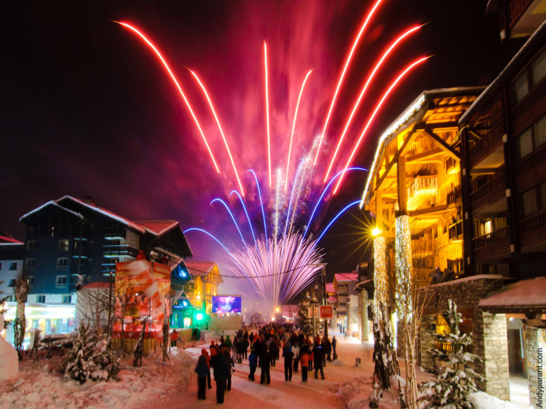 New year in Courchevel, Les Gets and Espace Killy