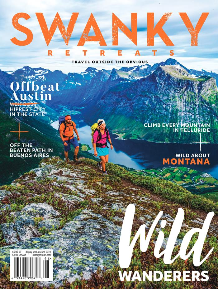 Magazine Swanky retreats